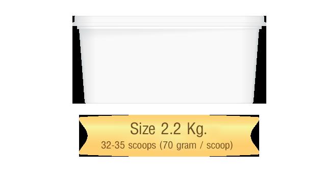 icecream scoop size 2.2 kg