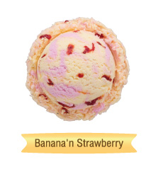 banana'n strawberry