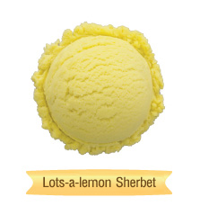 lots-a-lemon sherbet