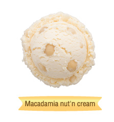 macadamia nut'n cream